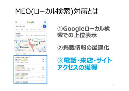 MEO対策のサービス資料スクリーンショット3