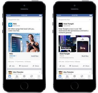 Facebook広告のイメージ画像